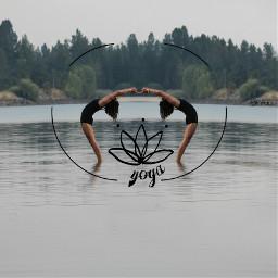 yoga remixit yogaremix madewithpicsart nature freetoedit