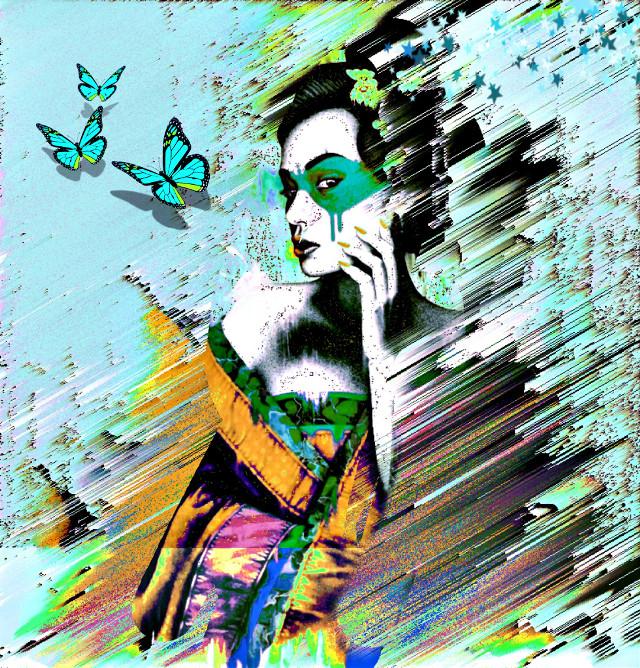 #findac#geisha#graffitiart