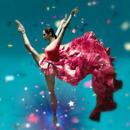 dancer ballernia beautiful background tiltshifttool myedit madewithpicsart