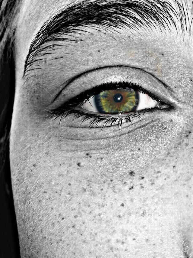 #ojo #blackandwhite #cc #color #pecas #wo #ñañaña #principiante