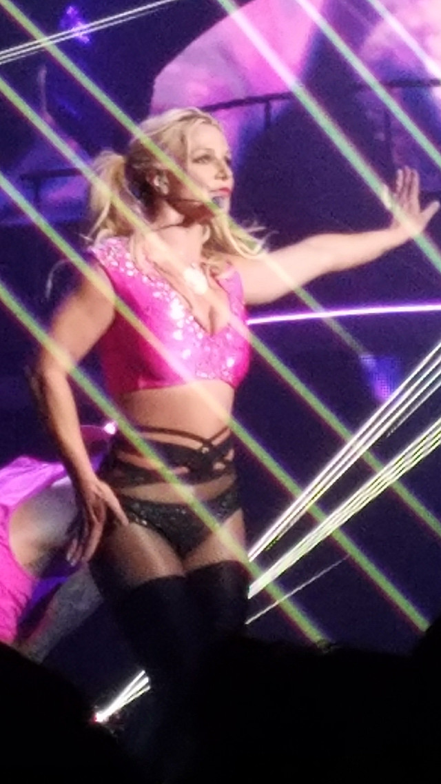 Britney Spears! #britneyspears #concert #lights