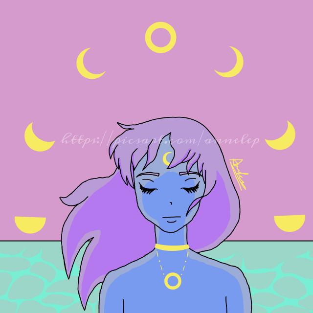 A new age  #moon #aesthetic #sea #moonchild #drawing #digitaldrawing #drawingonsmartphone