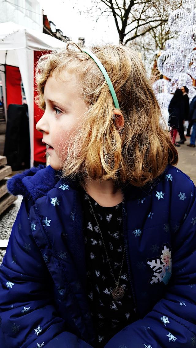 #winter #christmas #children #portrait