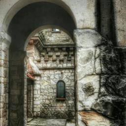 tower oldbuilding rocksbuilding nikonphotography ilumination freetoedit