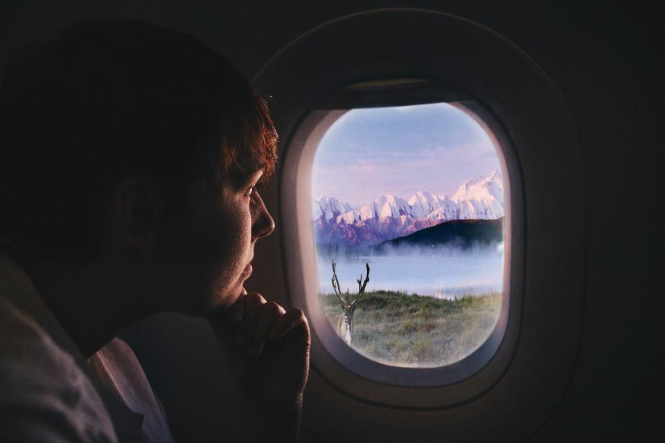 #pretty #plane #window