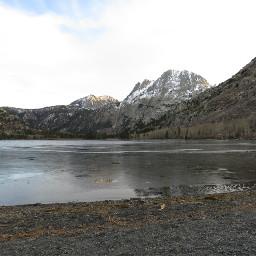 adventure lake mountain snow