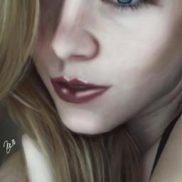 drawing freetoedit dc2018portrait