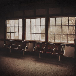window chairs dramaeffect nopeople darkroom