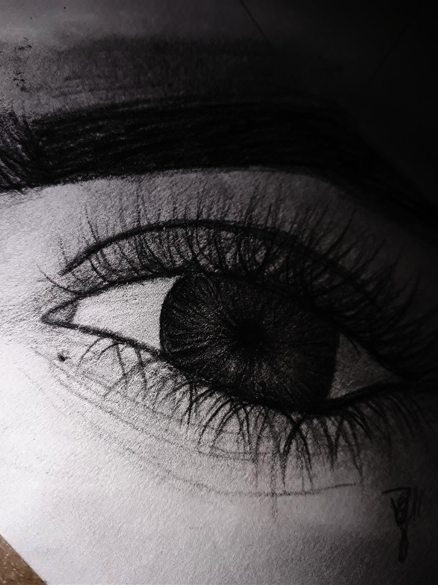 #deapoco #progreso #eyes #ojo #blackandwhite #drawing #black #white #happy #january6