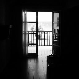 greece hotelroom travelphoto blackandwhite edited
