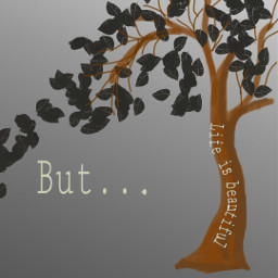 beautifullife treeoflive life nothappy colorpaint