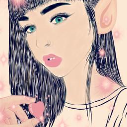 freetoedit fairy elf dailyremix sketchremix