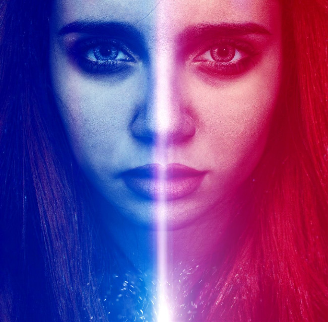 #woman #starwars #lightsaber #pickaside #evilorgood #pa #picsart #photography #color