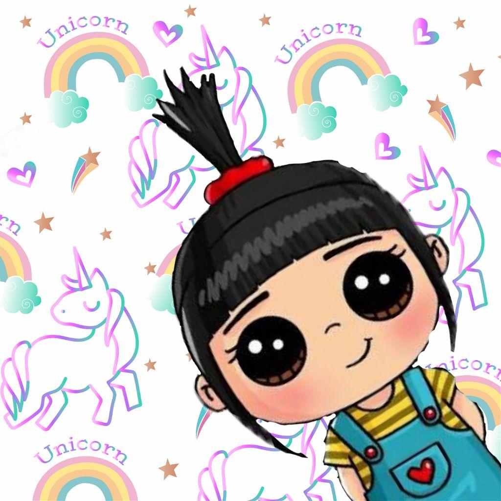 Unicorn Kawaii Unicorns Picsart Colagge Meumalvadof