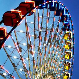 statefair2018 ferriswheel bigwheel closeup