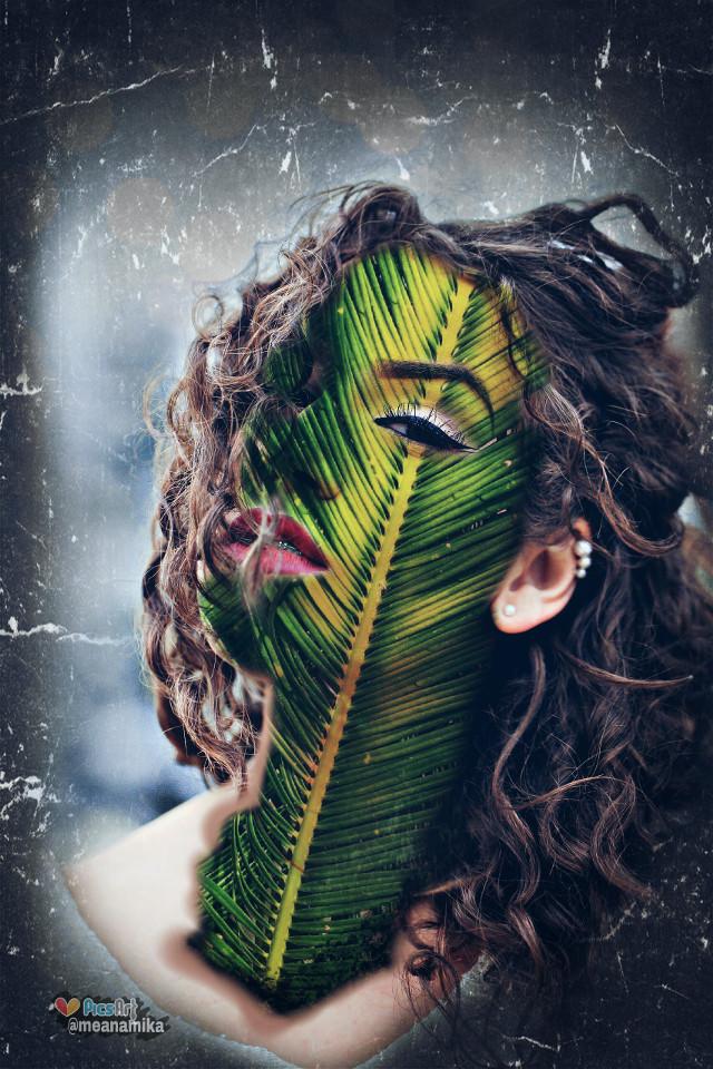 Insta @mebhagyashri #feather #feathertouch #face #madewithpicsart #fun #editing #effects #drawtool @picsart