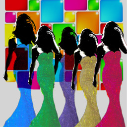 freetoedit glitterfashion colors women