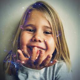 fantasy girl glitter love laugh