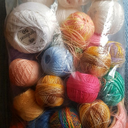 pcroundobjects roundobjects yarn colorful crafting