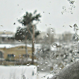 snow outerwear wet