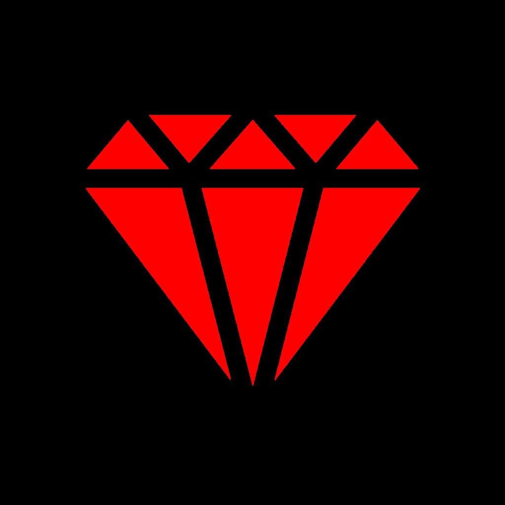 Diamond Red Transparent Png Red Diamond