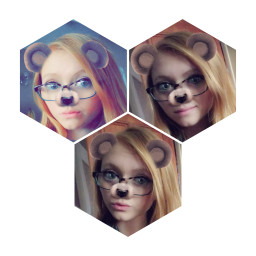 snapchat bear cute selfie selfies