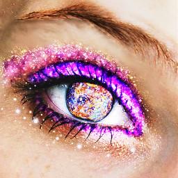 freetoedit eye eyes space remix freetoedit.