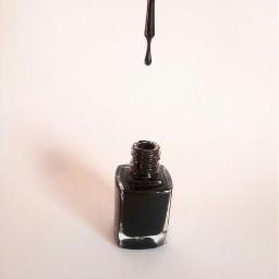 freetoedit nail nailpolish black myphoto