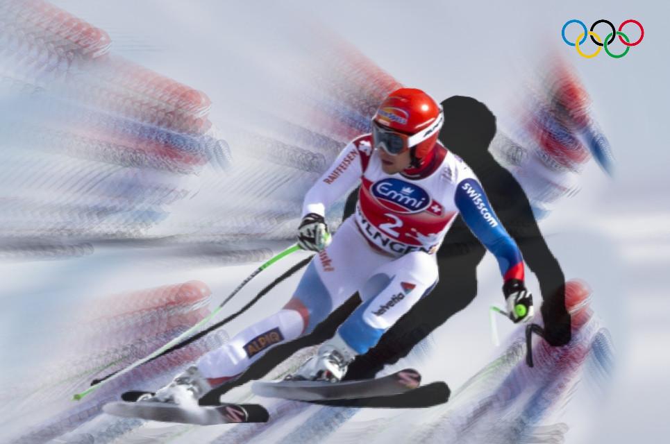 #freetoedit #winter #olympics #winterolympics #skiing #madewithpicsart