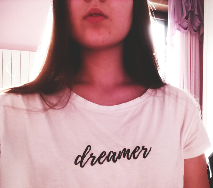 «You may say I'm a dreamer, but I'm not the only one.»   Imagine, Jhon Lennon   #freetoedit #dreamer #jhonlennon #T-shirt #white #myhoto