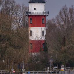 lighthouse habor northsea germany
