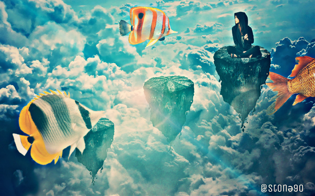 #freetoedit #fish #myedit #clouds #dreamy #stepbystepedit #dailyremix