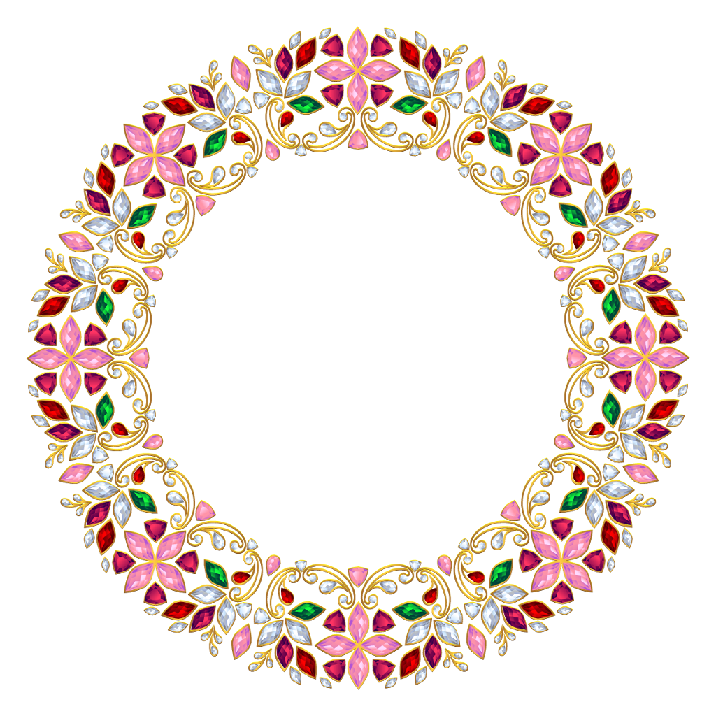 frame jewel fancy circleframe ftestickers...
