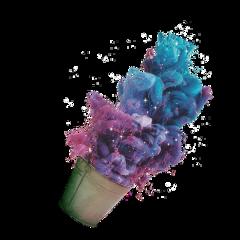 freetoedit ftestickers colorsplash remixit smoke