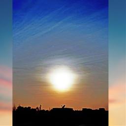 freetoedit bluesky sun potrait myphotography