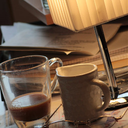 coffee newspaper morningroutine freetoedit