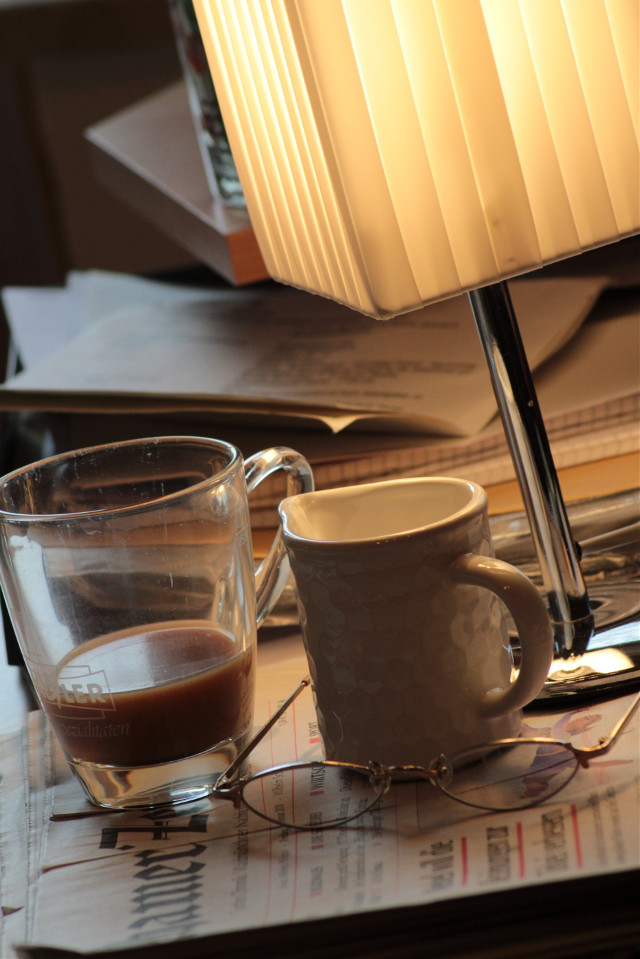 #coffee #newspaper #morningroutine   #freetoedit