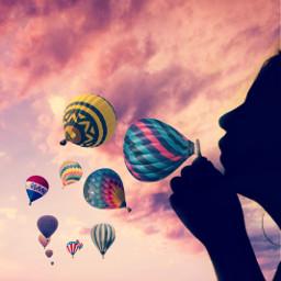 freetoedit dailyremix dailyinspiration baloon baloons irchotairballoon
