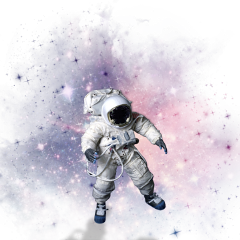 ftestickers astronaut space galaxy freetoedit