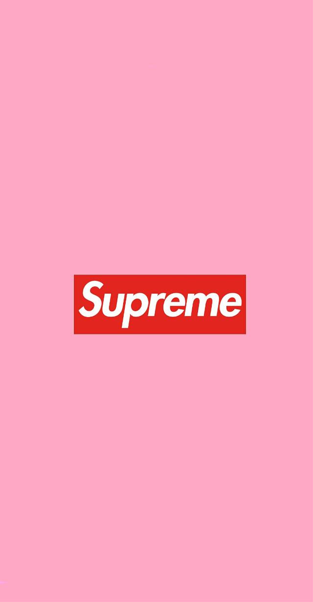 #fondo #supreme #wallpaper #pink