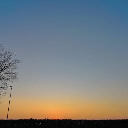 freetoedit sky landscape sunset france