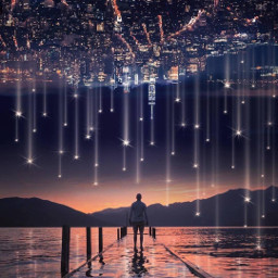 freetoedit upsidedown stars