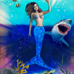 freetoedit myedit madewithpicsart mermaid fish ircmysticalmermaid