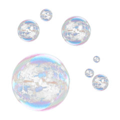 aeshetic bubble tumbler freetoedit