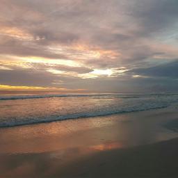 pcbeaches artistic beach sunset colorful