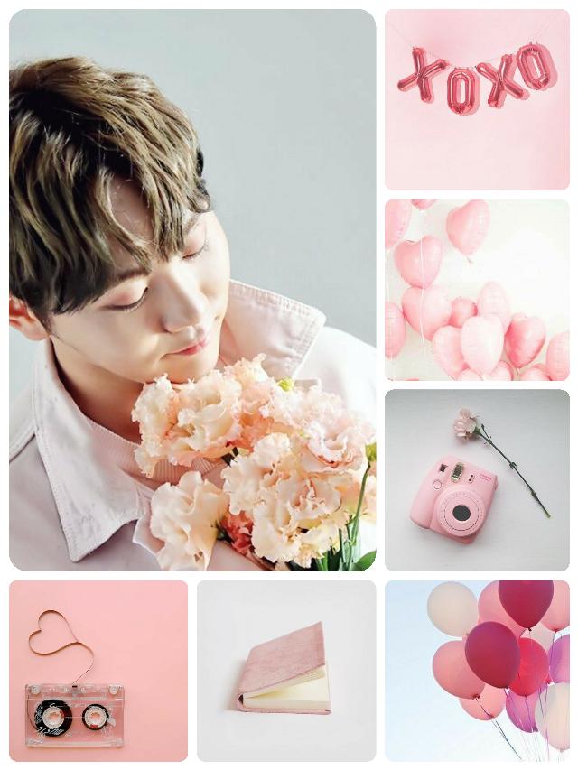 #poopymoodboard #moodboard #pink #boo #seungkwan