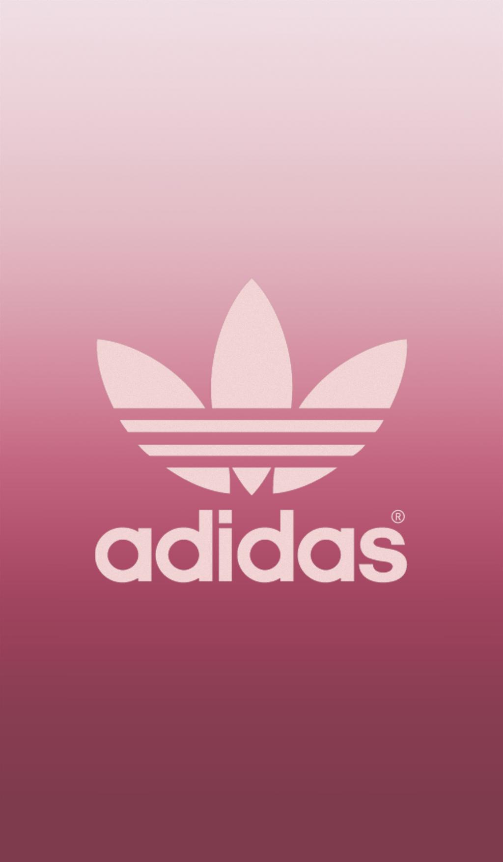 freetoedit adidas pink wallpaper.
