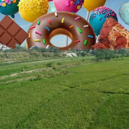 freetoedit food foodporn donut sweets