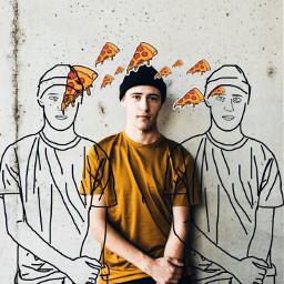 pizza streetstyle beatiful urban artisticselfie freetoedit srcpepperonipizza
