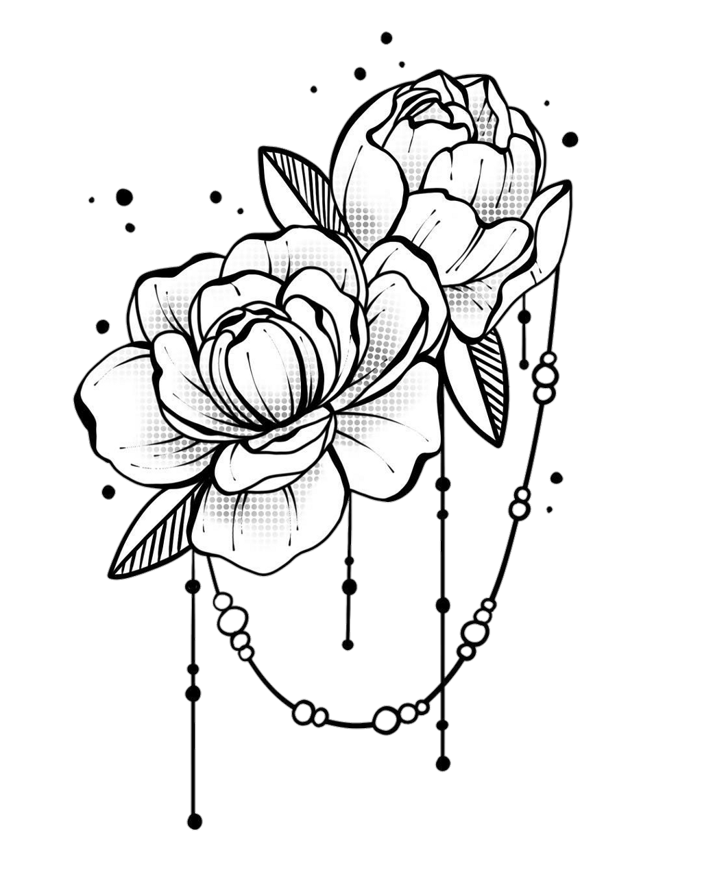 Blackandwhite Flower Flowers Rose Roses Tumblr Sticker